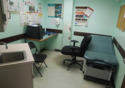 One of 4 main provider rooms